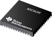 ADC34J24-四通道 12 位 50 �C 160 Msps 模数转换器