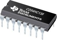 CD54HC138-高速 CMOS 逻辑反向和同向 3 至 8 线路解码器多路解复用器