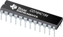 CD74HC154-高速 CMOS 逻辑 4 至 16 线路解码器/多路解复用器