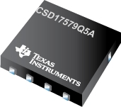 CSD17579Q5A-CSD17579Q5A 30V N 通道 NexFET? 功率 MOSFET