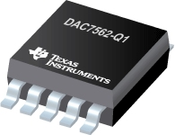DAC7562-Q1-DAC8562 双路 16/14/12 位超低毛刺脉冲低功耗缓冲器电压输出 DAC