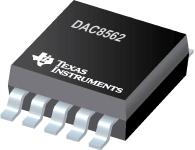 DAC8562-具有 2.5V、4ppm/°C 基准的 16 位、双路、低功耗、超低短时脉冲波形干扰、缓冲电压输出 DAC