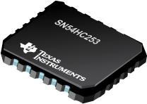 SN54HC253-具有三态输出的双路 4 线路至 1 线路数据选择器/多路复用器