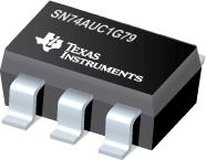 SN74AUC1G79-单路上升沿 D 类触发器