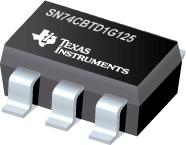 SN74CBTD1G125-具有电平转换功能的单路 FET 总线开关