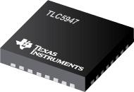 TLC5947-24-Channel, 12-Bit PWM LED Driver with Internal Oscillator
