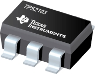 TPS2103-2.7-4V 双输入/单输出 MOSFET 0.5A 主输入/0.1A 辅助输入,工作态高电平启用,常见 温度