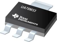 UA78M33-3/4 引脚 500mA 固定 3.3V 正电压稳压器